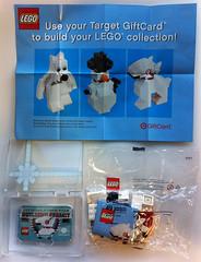 LEGO Target Bullseye Gift Card 2011