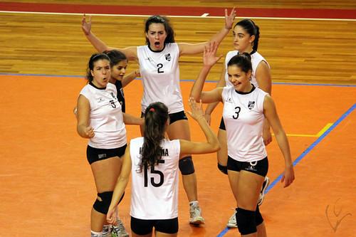 Voleibol Juniores Femininos: Vitória 3-1 Juventude Pacense