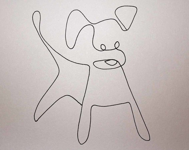 Single Line Drawing Artists : Minimal elegant one line drawings illustrate the magnificence of