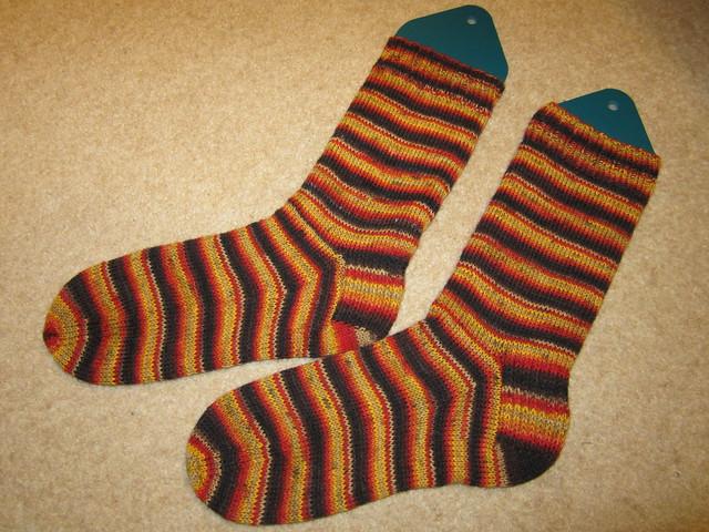 Mr JK's Weihnachts socks (2)