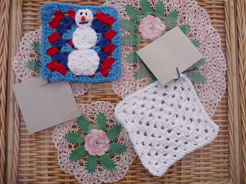Kay (USA) Your Snowman Squares have arrived thank you!