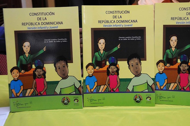Constitución Dominicana versión Infantil y Juvenil