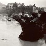 001. 1954 Hochwasser  Grein von Oben [1024x768]