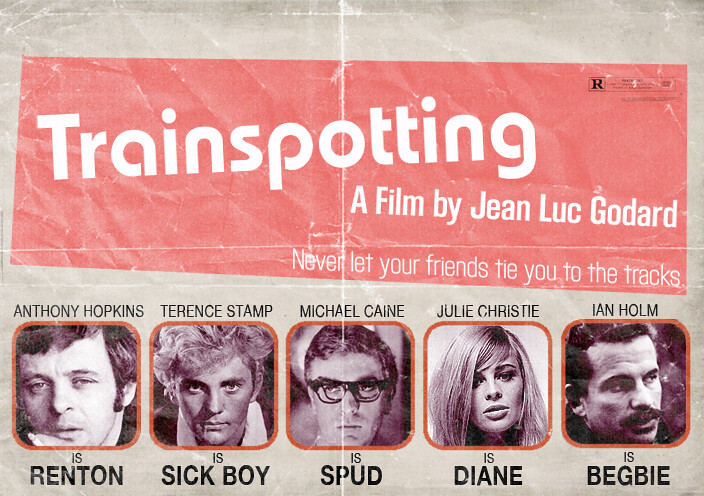 Alternate Universe - TRAINSPOTTING, by Peter Stults