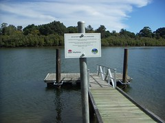 Mylestom pontoon finished
