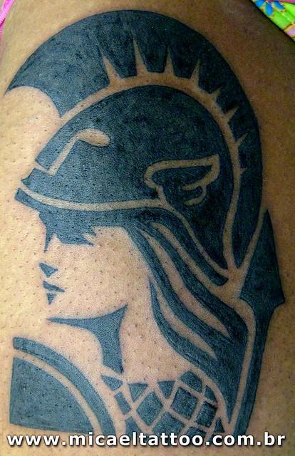 Tatuagem Minerva Tattoo