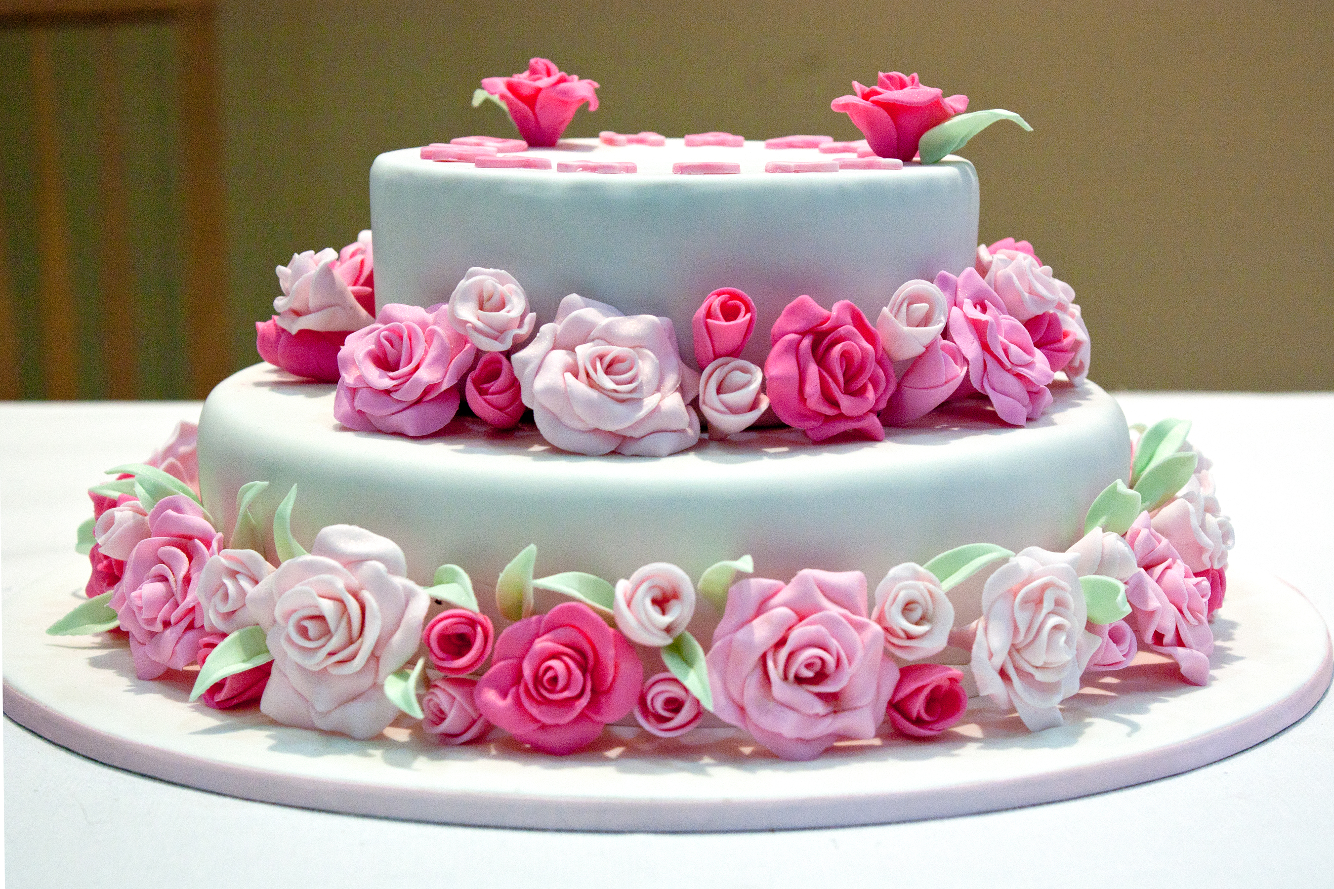Pink Rose Birthday Cake Flickr Photo Sharing