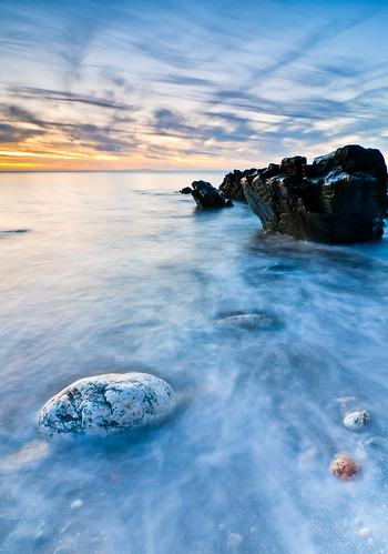sunset sea seascape colour rocks tokina filters isleofman formatt nikond90