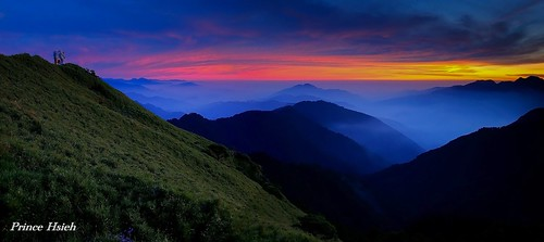 sunset mountain taiwan after 日落 合歡山 hehuan hehuanmountain 夕彩 sonya850 sony2470za 合歡夕彩