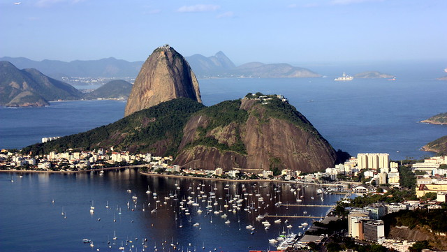 Sugar Loaf and Urca Mountains