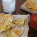 peaches cream scones 6