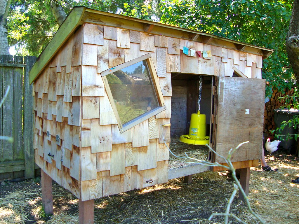 Shingled Chicken Coop - Seattle