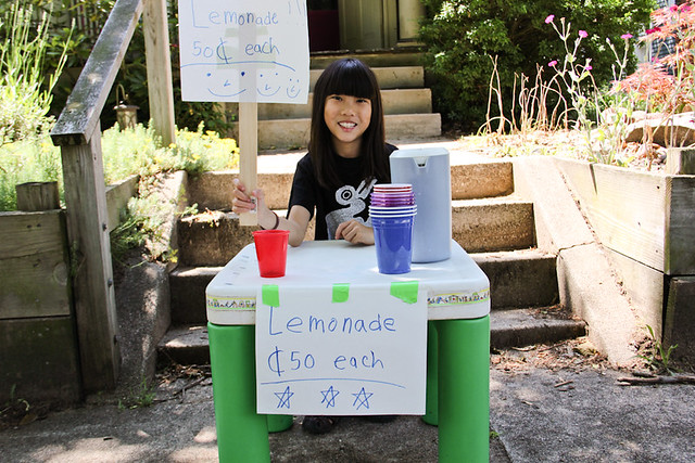 Lemonade Stand 50 Cents Each Qiqi Lourdie June 24, 20111