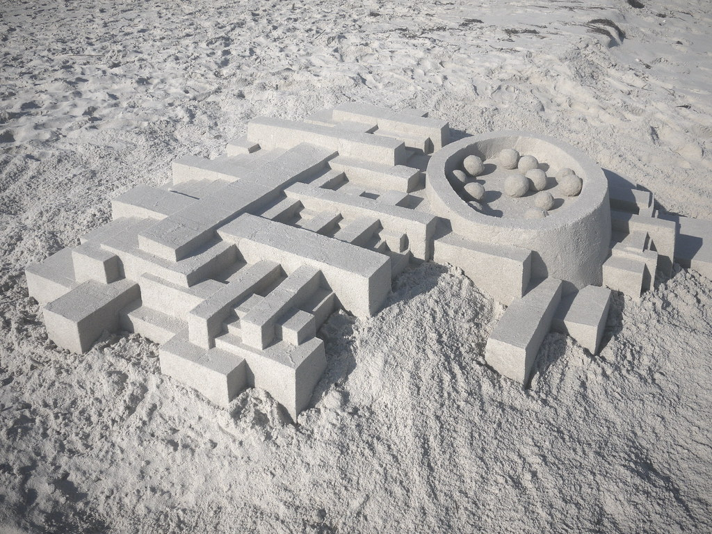 5948474549 5c842b2021 b Geometric Sand Sculptures by Calvin Seibert