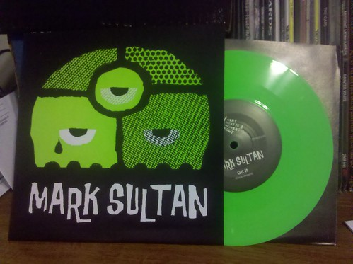 "Mark Sultan - Calloused Hands 7"" - Green Vinyl"