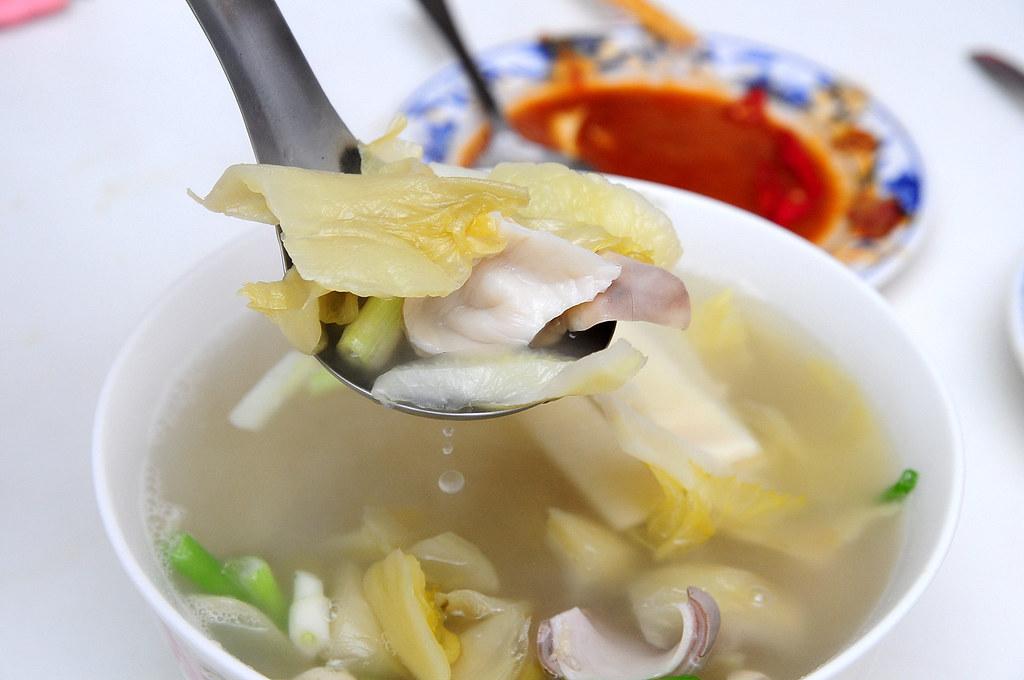 辛亥小館 - 酸菜肚片湯