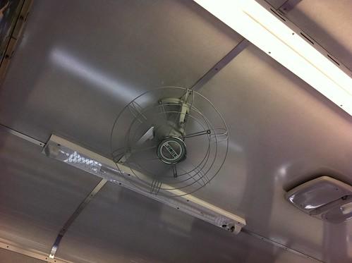 現役扇風機/Ceiling fan
