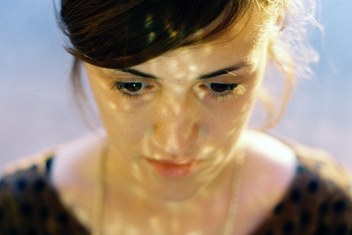 LE LOVE BLOG LOVE PICS PHOTOS IMAGES LOVE QUOTES LETTING GO THANK YOU LETTER PORTRAIT GIRL REFLECTION ON FACE Untitled by Marija Strajnic, on Flickr