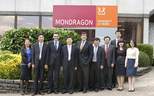 Kunshan visita MONDRAGON