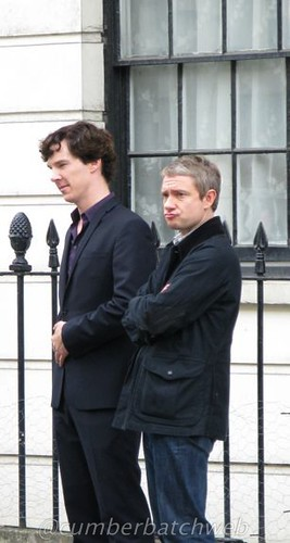 Sherlock series 2 filming