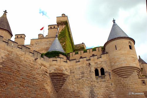 Castillo de Olite, Navarra by Rufino Lasaosa