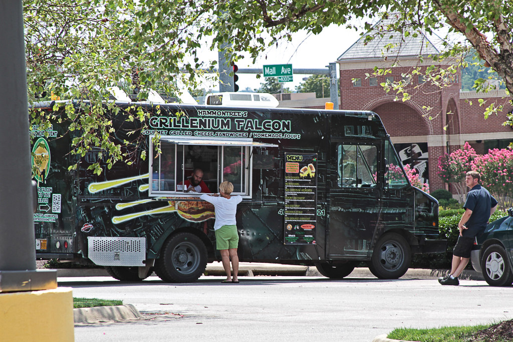 Mobile Food Truck Parking Spaces