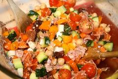 salad, vegetable, vegetarian food, meat, food, dish, cuisine, ratatouille,