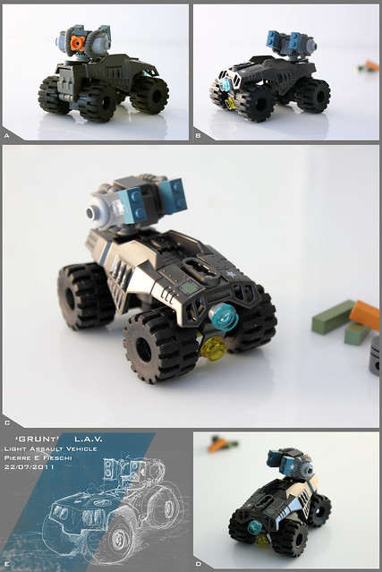 GRUNT Light Assault Vehicle