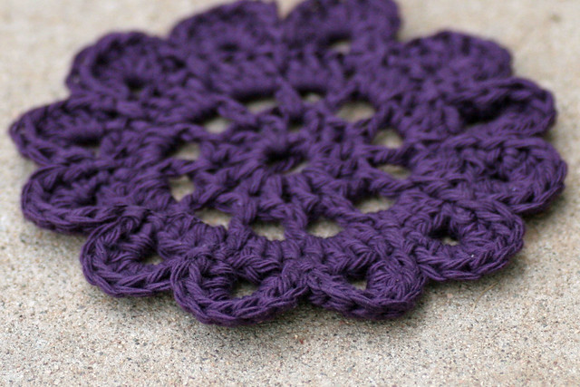 Crochet Snowdrop Flower Pattern Tutorial : Crochet Flower made using this tutorial:http ...