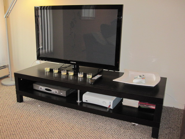 ikea lack tv stand flickr photo sharing. Black Bedroom Furniture Sets. Home Design Ideas