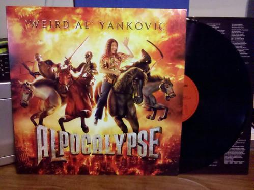 Weird Al Yankovic - Alpocalypse LP