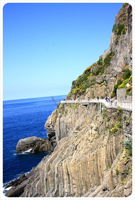 Via dell'amore & cliffs