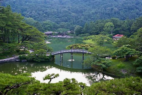bridge japan garden nikon takamatsu nikkor fx kagawa 公園 橋 ritsurin 香川 高松 d700 栗林 1635mmf4gvr ©jakejung
