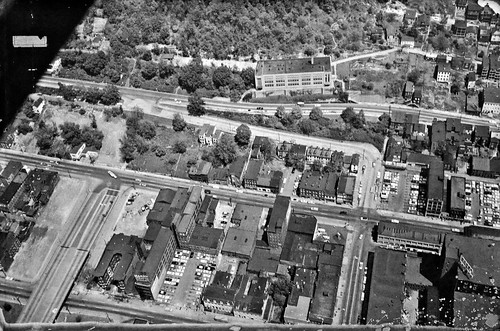 9th to 10th Street Aerial, ca 1960
