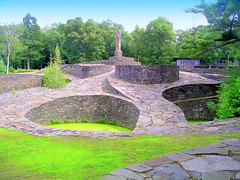 New York State. Opus 40 and Quarryman's Museum