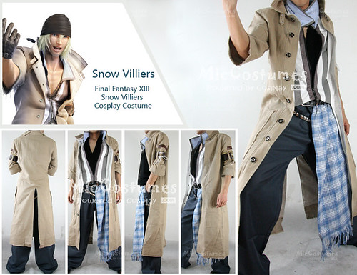 Final Fantasy XIII Snow Villiers Cosplay