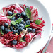 Blueberries, Mint and Radicchio