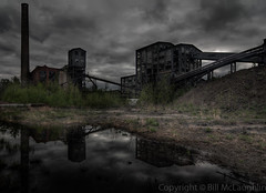 Reflecting On The Huber Colliery