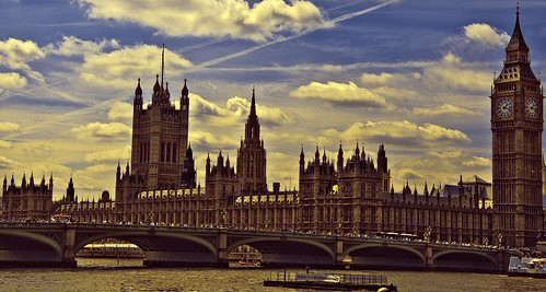 """""""Frozen Poetry"""" - Houses of Parliament, London"""