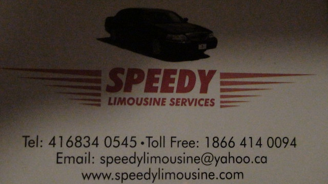 Speedy Limousine Toronto | Flickr - Photo Sharing!