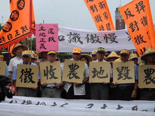 被徵收的農地預估年產值350萬公斤稻米。攝影:廖靜蕙