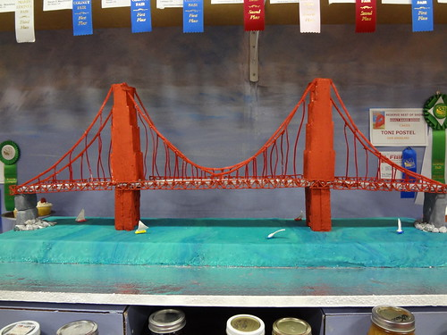 golden gate bridge cakes