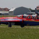 Le bourget 2011 - Fouga Magister