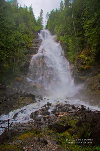 canada geotagged golden waterfall britishcolumbia transcanadahighway kayfalls 1011kmtogoldeninbritishcolumbiacanada geo:lat=50974586 geo:lon=118606544