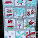 12 Blocks of Christmas Bee Quilt by simplykidsocala