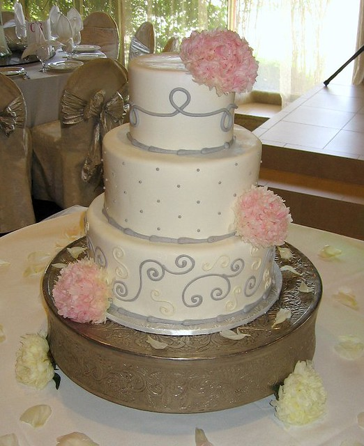 Measurement Of Cakes For Two Tiers