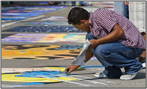 streetart art canon painting chalk trf 7d streetchalk chalkwalk fortwayneindiana threeriversfestival