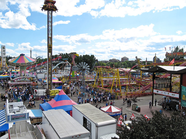The Calgary Stampede Midway Flickr Photo Sharing