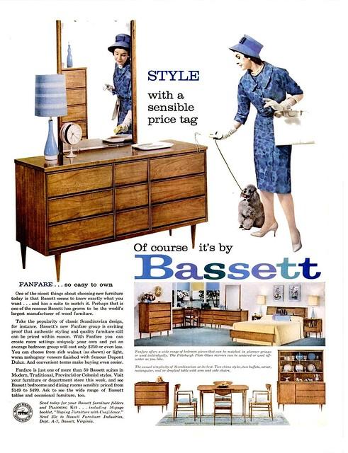 Bassett Ad 1960 Flickr Photo Sharing