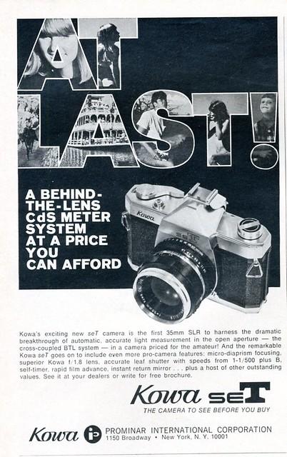 Kowa seT - 1967